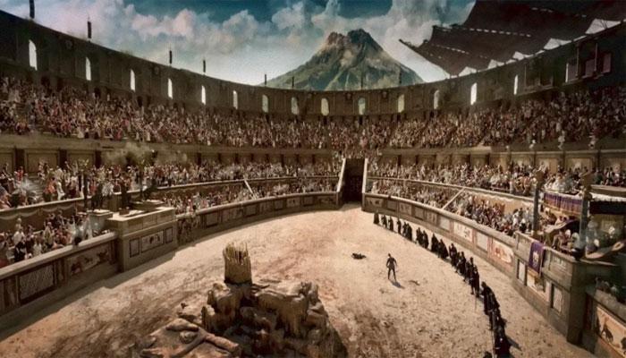 Одно из представлений в Колизее