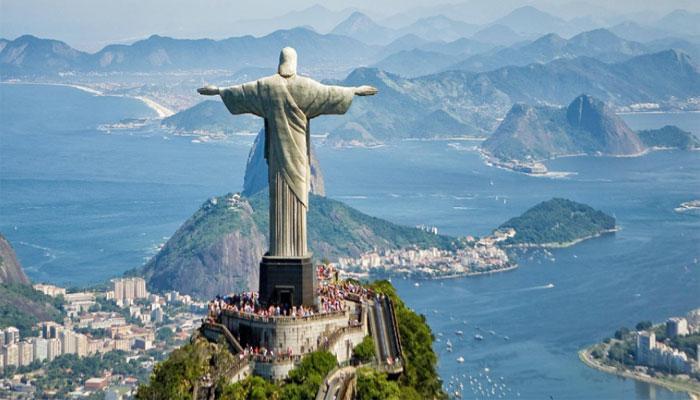 Местонахождение главной достопримечательности всей Бразилии