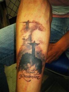 иисус христос тату