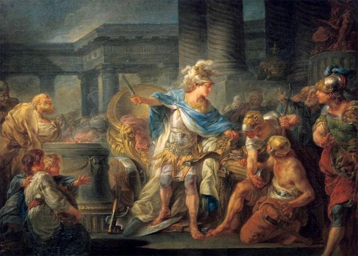 Александр во время похода