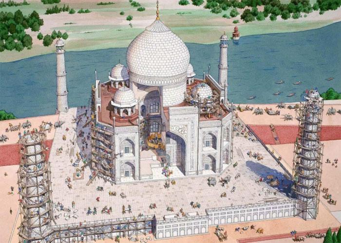 Строительство мавзолея