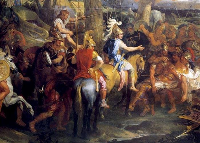 Правитель принимал участие во всех сражениях и битвах