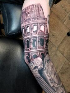 татуировка_колизея