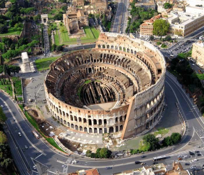 Разрушение главной достопримечательности Рима