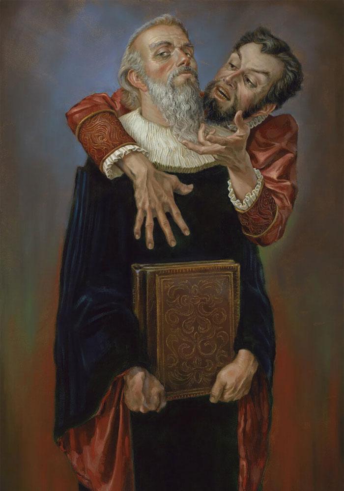 Мефистофель и Фауст картинка