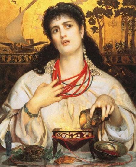 Картина Энтони Фредерика ОгастасаСэндиса, посвященная царевне
