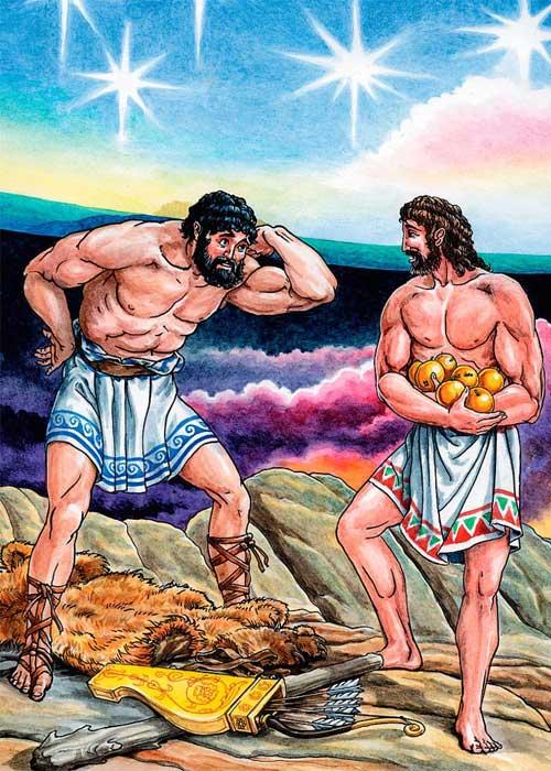 Геракл удерживает небосвод