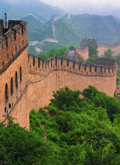 Китайская стена - памятник архитектуры