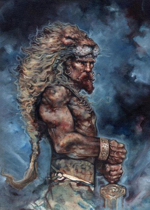 Образ храбреца в мифологии