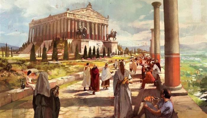 Храм стал излюбленным местом для отдыха и поклонений