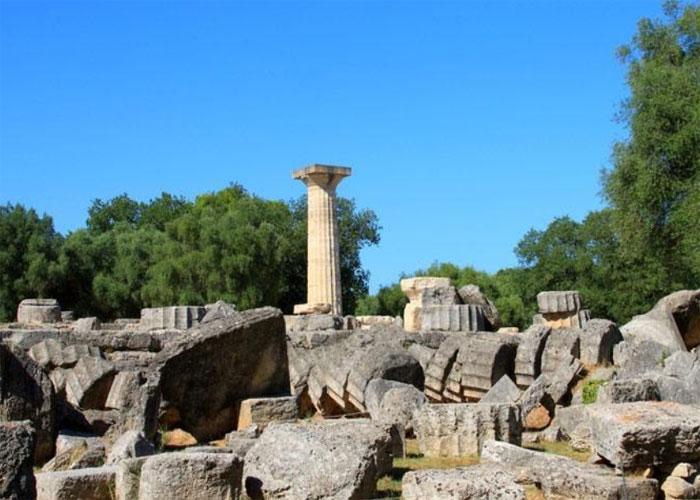 Остатки храмового комплекса