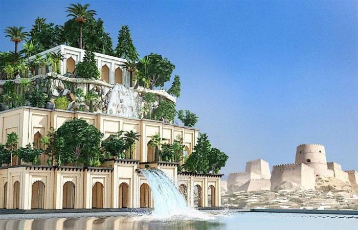 Проект висячих садов Семирамиды