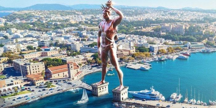 Статуя Колосса