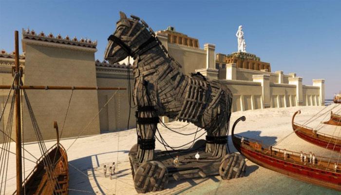 Троянский конь - гениальная идея храбреца