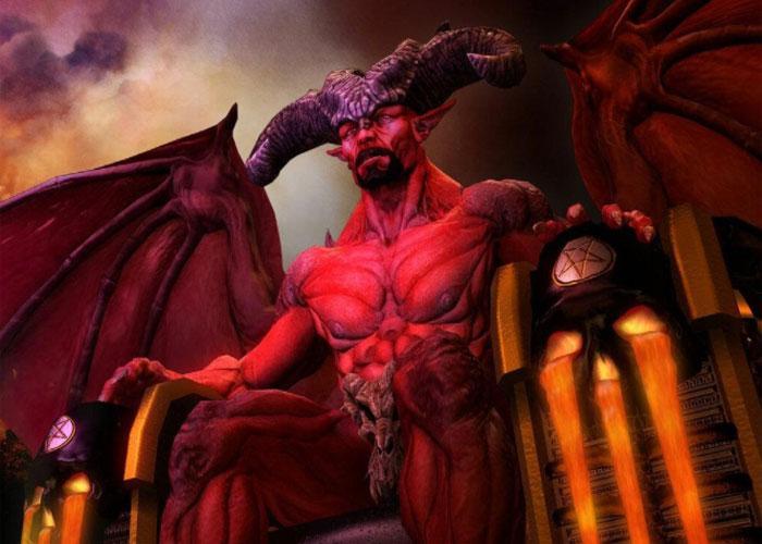 Дьявол на троне