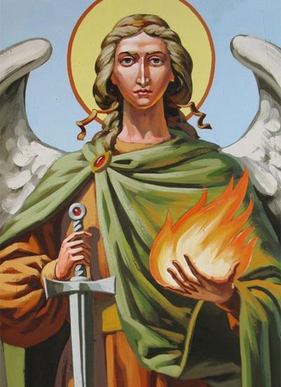 Уриил - один из восьми архангелов, посланных Господом для защиты и наставления людей