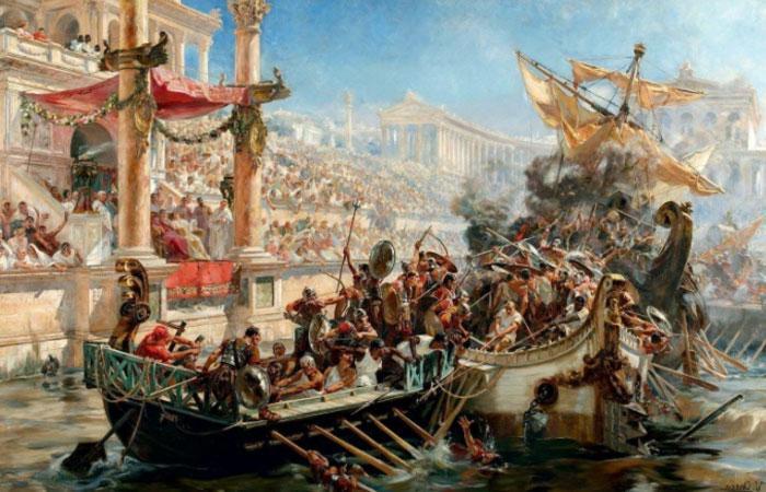 Навмахия - самое дорогое развлечение римских императоров