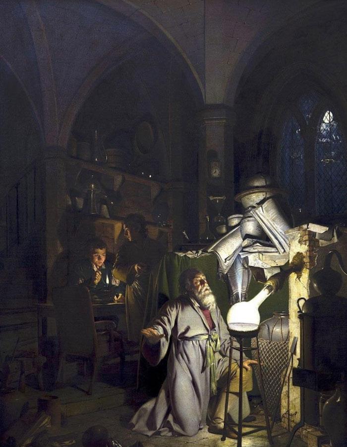 Картина Джозефа Райта