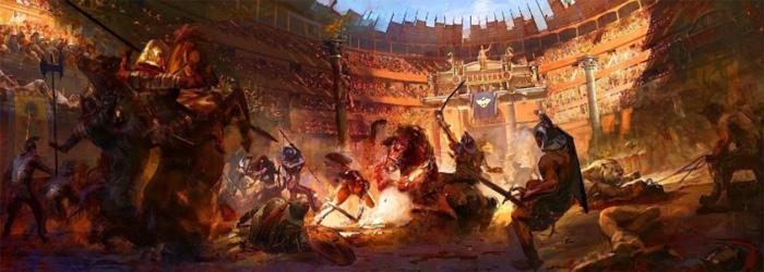 Поединки в Колизее