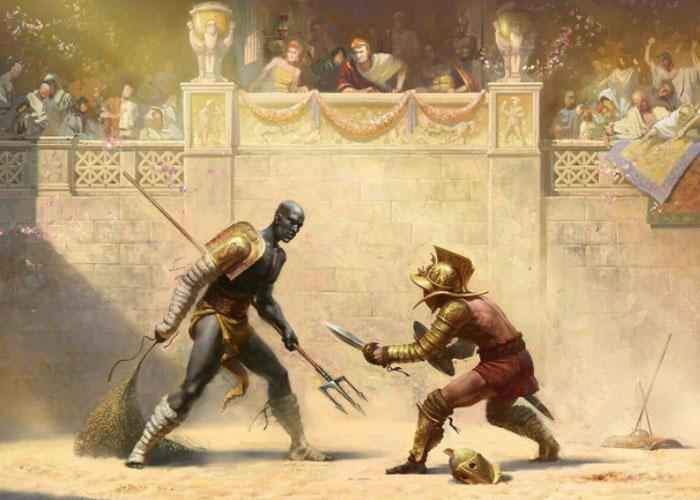 Гладиаторские бои - самое популярное зрелище в Древнем Риме на протяжении почти 7 веков