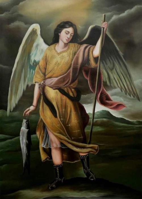 Подвиги архангела Рафаила, ниспосланного на Землю самим Господом