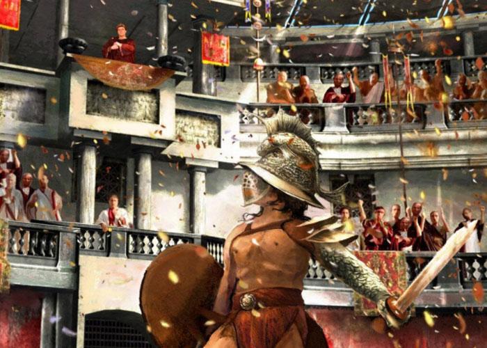 Зрители были в восторге от гладиаторских боев
