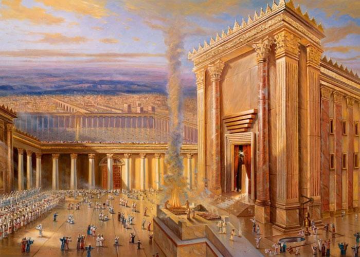 Храм Соломона - великий памятник древней архитектуры из древних мифов и религиозных писаний