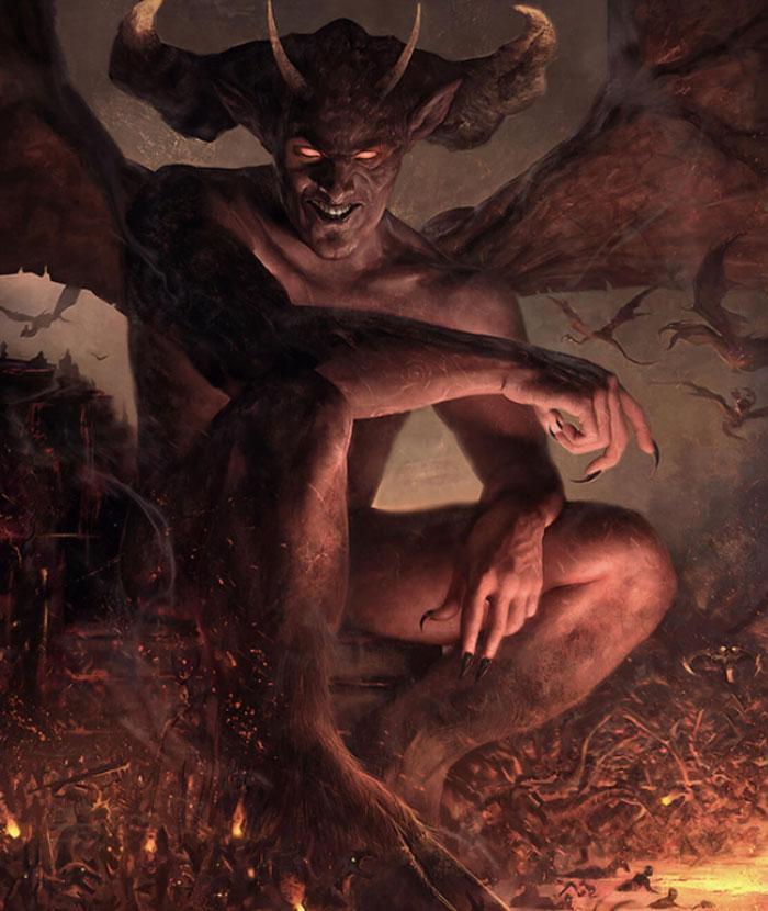 Образ Сатаны