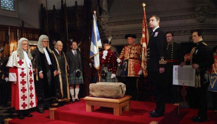 История шотландской реликвии