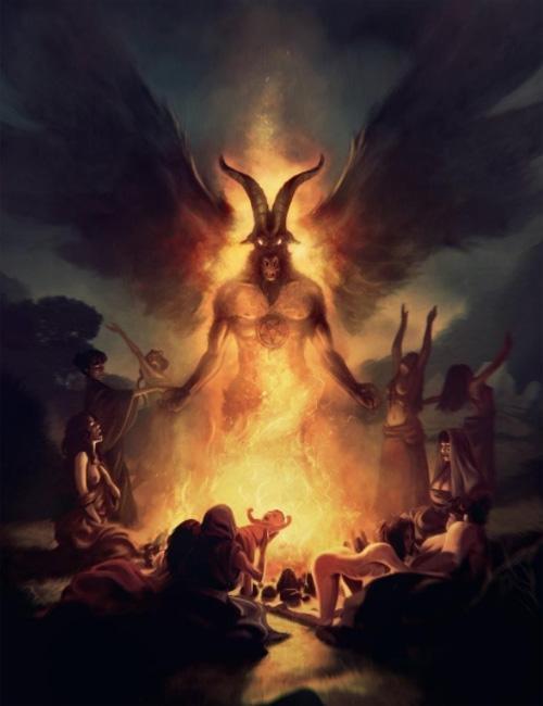 Истинный вид Сатаны