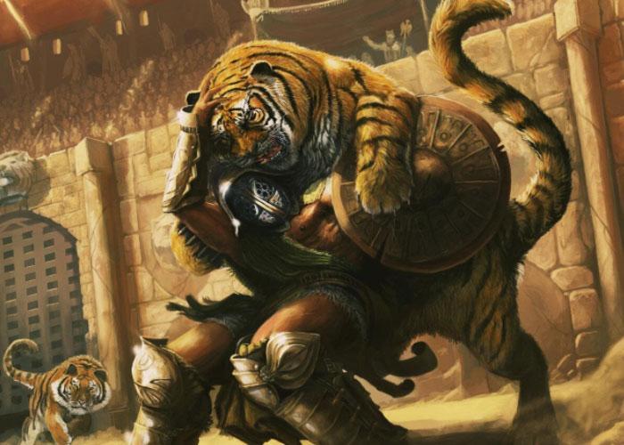 Звериные бои в Древнем Риме
