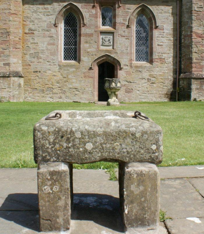 Артефакт на территории Эдинбургского замка
