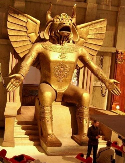 Идол языческого божества