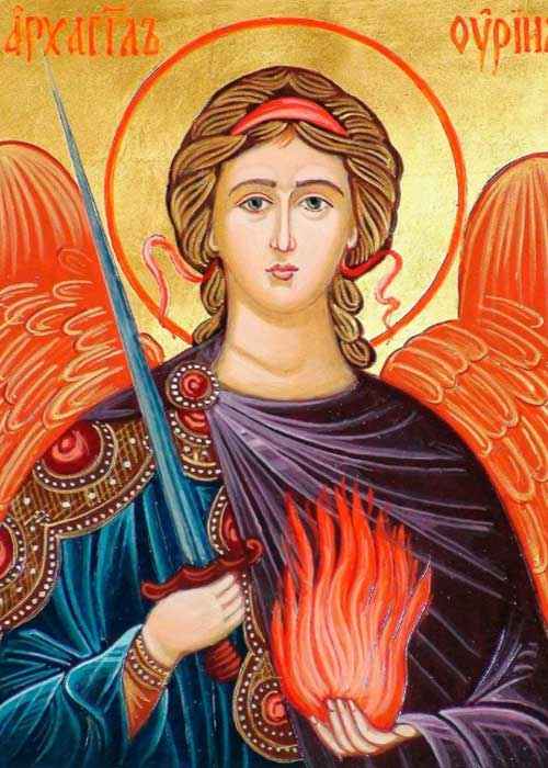 Облик архангела Уриила