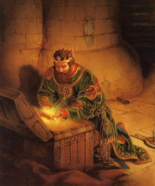 Царь Мидас и его богатства
