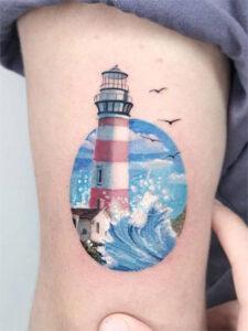 татуировка башни смотрителя