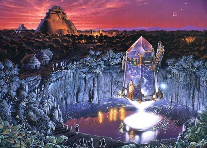 Таинственный кристалл атлантов