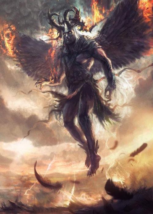 Люцифер - демон гордыни