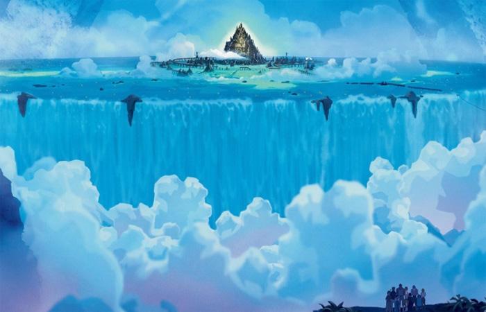 Точно неизвестно, где именно находится мифический остров