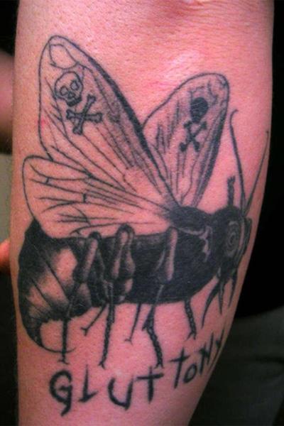 Татуировка демона