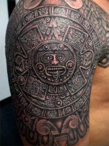 татуировка майя