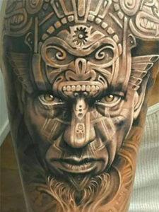символ майя тату
