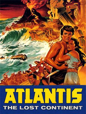 Атлантида, погибший континент