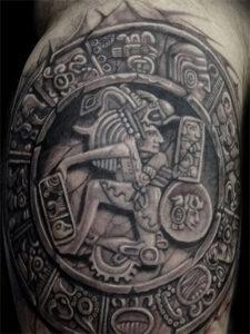 татуировка знаки майя