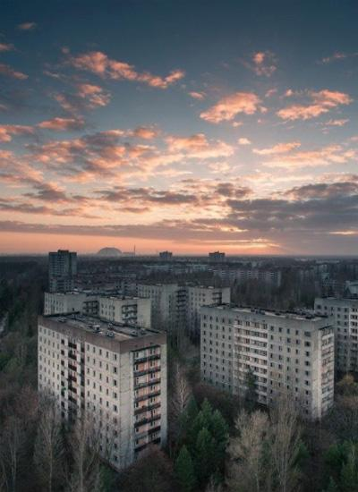Чернобыль - это заброшенный город в Украине