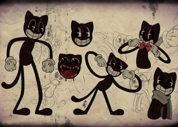 Внешний вид Cartoon Cat SCP-1923- картинка на mifistoria.info