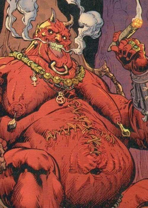 Ужасный демон Мамона