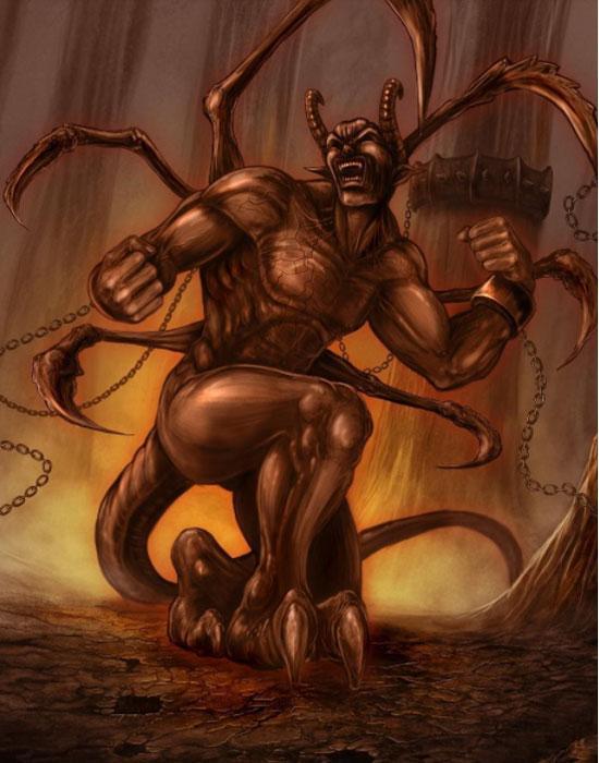 Демон лени