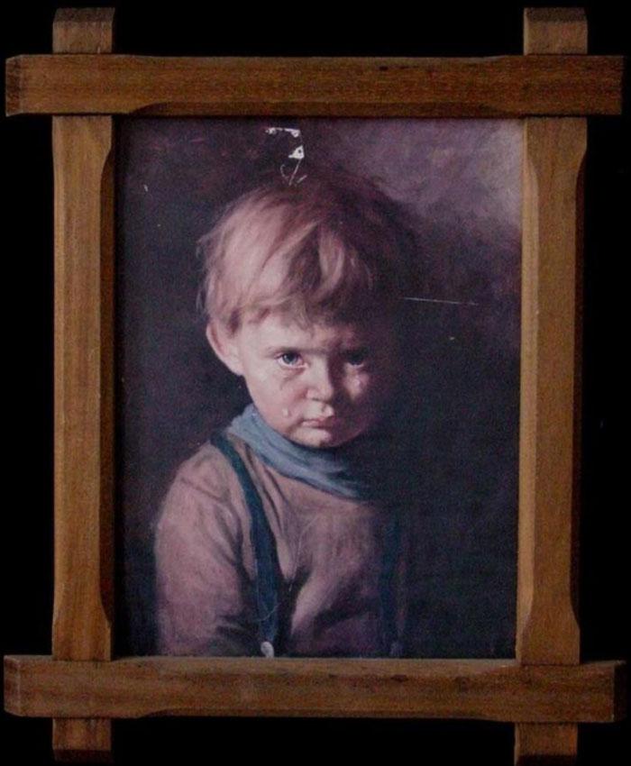 Точно неизвестно, как именно создавался проклятый портрет