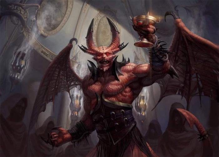 Образ демона Бальтазара